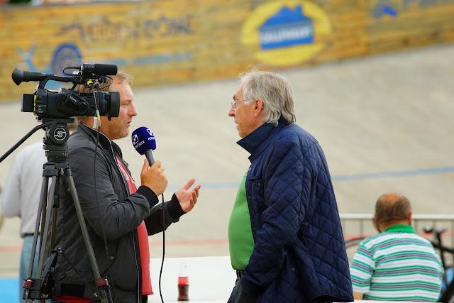Patrick Sercu bij Jeroen Sap van Focus-WTV