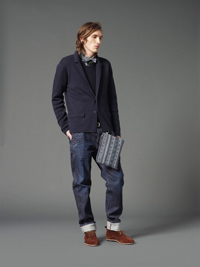 *Mauro Grifoni 和她的男人M.Grifoni Denim :Fall/Winter 2012-13 9