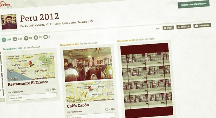 Irrive, o como combinar distintos servicios Web para reconstruir tu viaje
