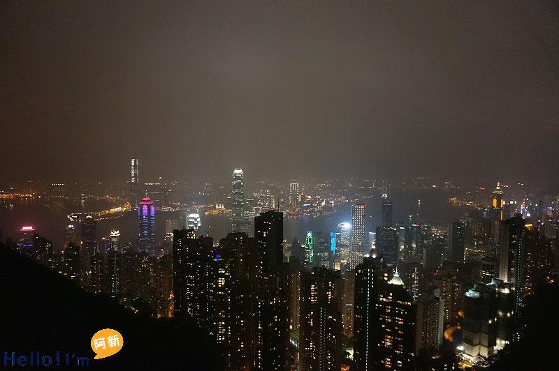 香港夜景,太平山夜景,凌霄閣摩天台428-4