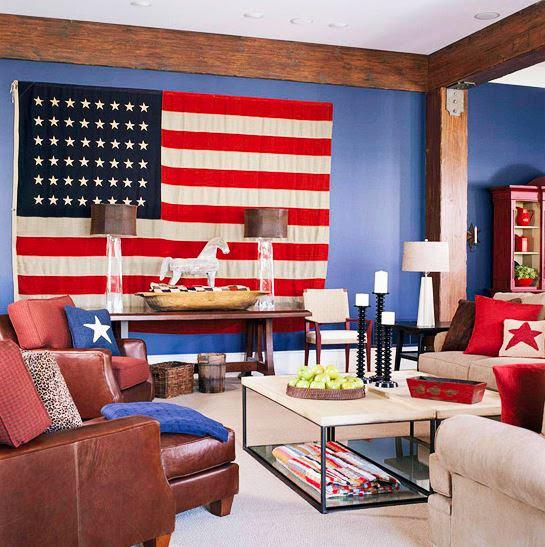 Inspiración 4 de julio para decorar.