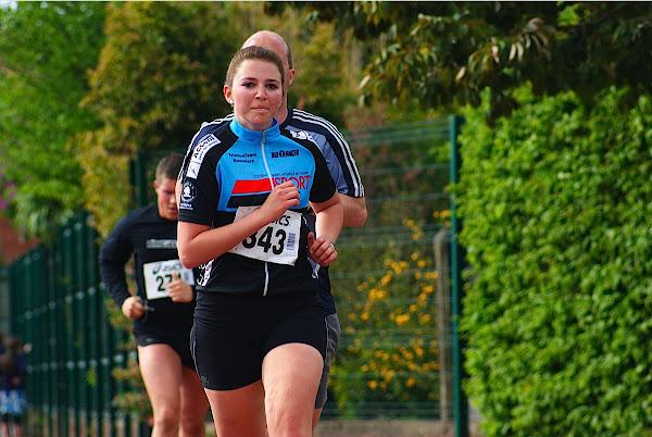 Marlies Vandevelde, 5 km Jogging, Krottegemse Corrida 2013, Roeselare Loopt