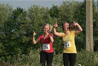 Roeselare Loopt: Pauline De Marez en Laura Heemeryck in Dwars door de Zilten 2012