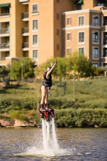 Flyboarding at Las Vegas Lake //  Things to do Las Vegas.