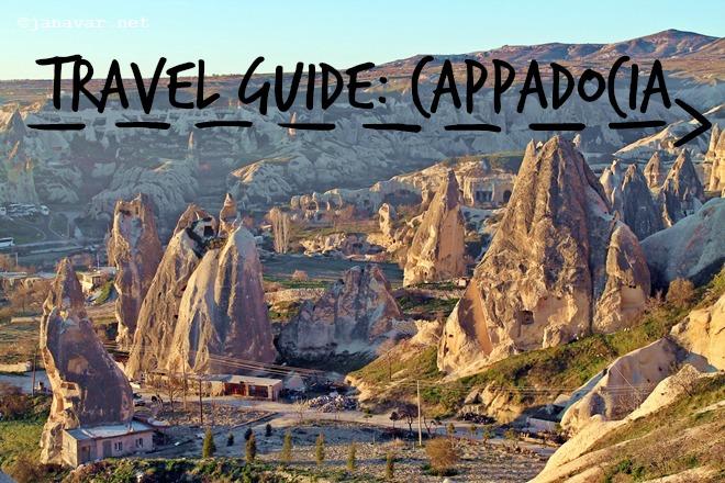 Travel guide: Cappadocia, Part I
