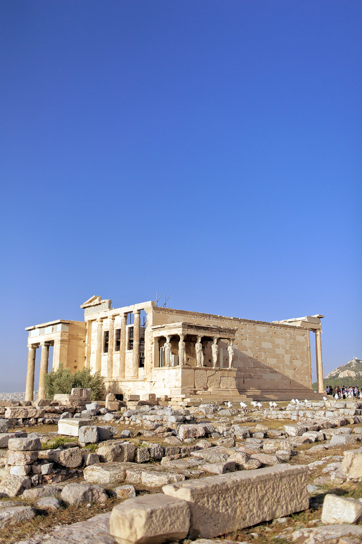 The Old Temple of Athena.