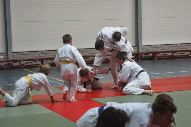 Judo trainingskamp