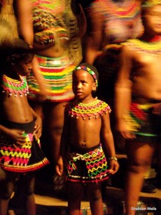 Young Zulu Dancer