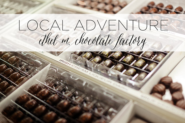 A Local Adventure: Tour of Ethel M Chocolates Las Vegas.