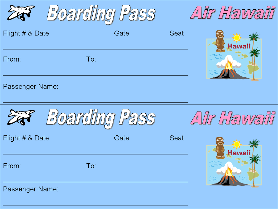 Airline Ticket Template Free airline ticket template 67530 – Plane Ticket Template