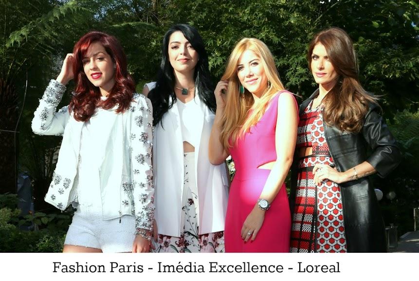 O novo ruivo de Sophia Abrahão - e as cores da Fashion Paris da Loreal