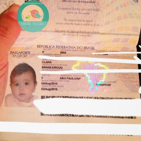 Passaporte bebê