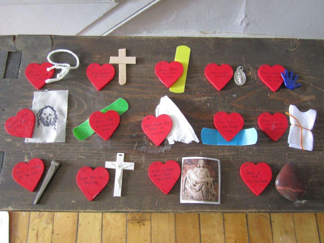 Catholic Icing Stations Of The Cross Eggs For Catholic Kids