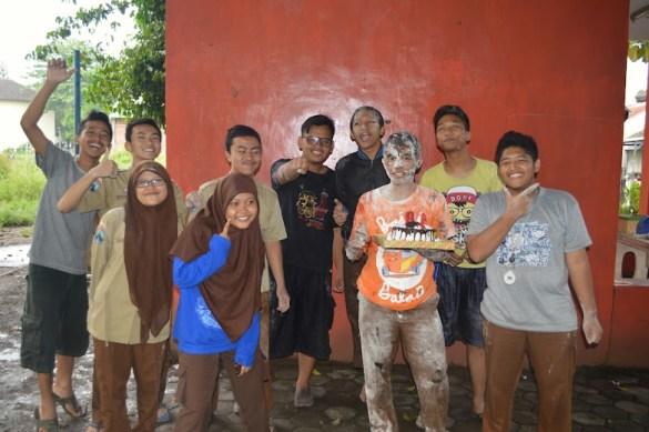 Ulang tahunnya Ambon SMK Telkom Malang