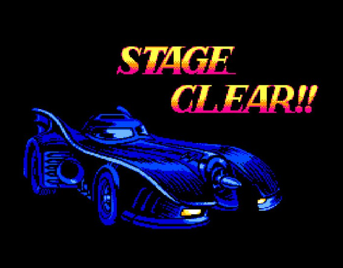 Stage Clear de Batman: Return of the Joker