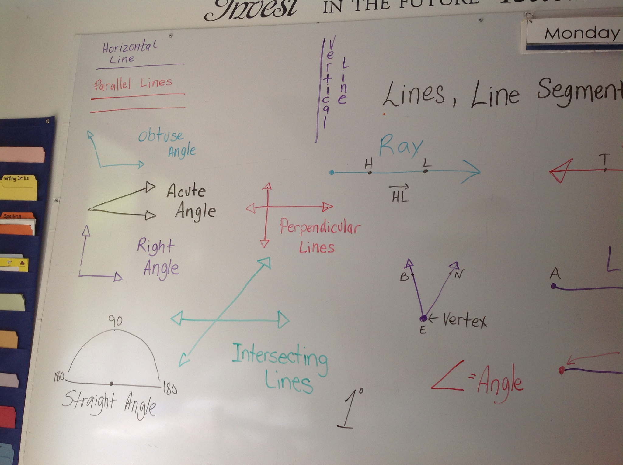 Worksheet Lines Line Segments And Rays