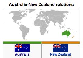 Australia - New Zealand Relations