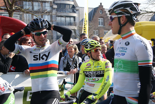 Wereldkampioen Mark Cavendish