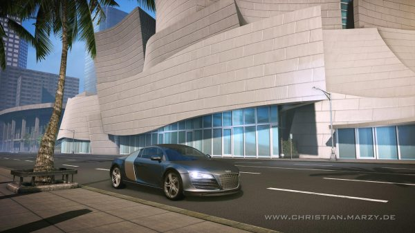 Christian Marzy 3D Art Audi R8 realtime cinematic cryengine