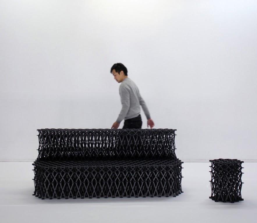 *伸縮自如沙發椅:XXXX_環保回收PET素材! 1