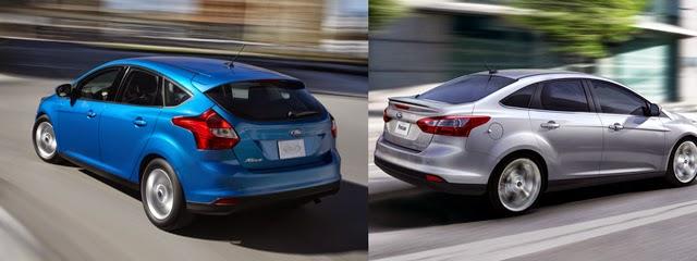 Ford Sedan VS Hatchback