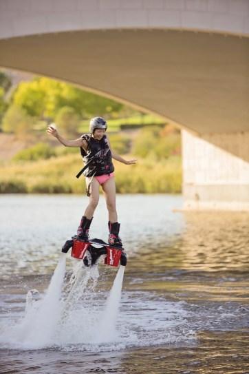 Flyboarding at Las Vegas Lake // Water sports in Las Vegas.