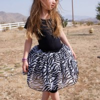 I want a Zebra print tutu too!