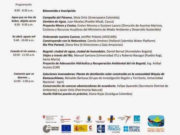 Agenda foro Colombo Europeo