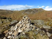 Gibson Knott summit with Steel Fell