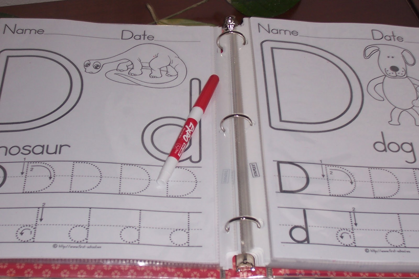 One Hot Crafty Momma Workbook For 2 4 Yr Olds