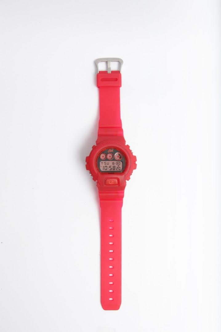 *CLOT 8週年第一擊:CASIO G-Shock x CLOT紅色橡膠錶! 2