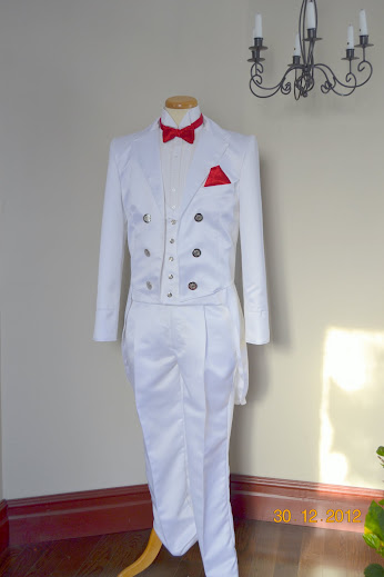costume veste queue de pie