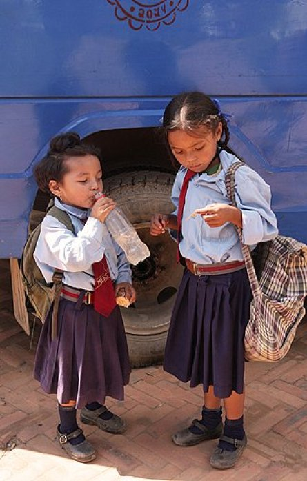 sankhu school girls