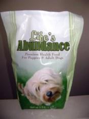 Life's Abundance Pet Food review
