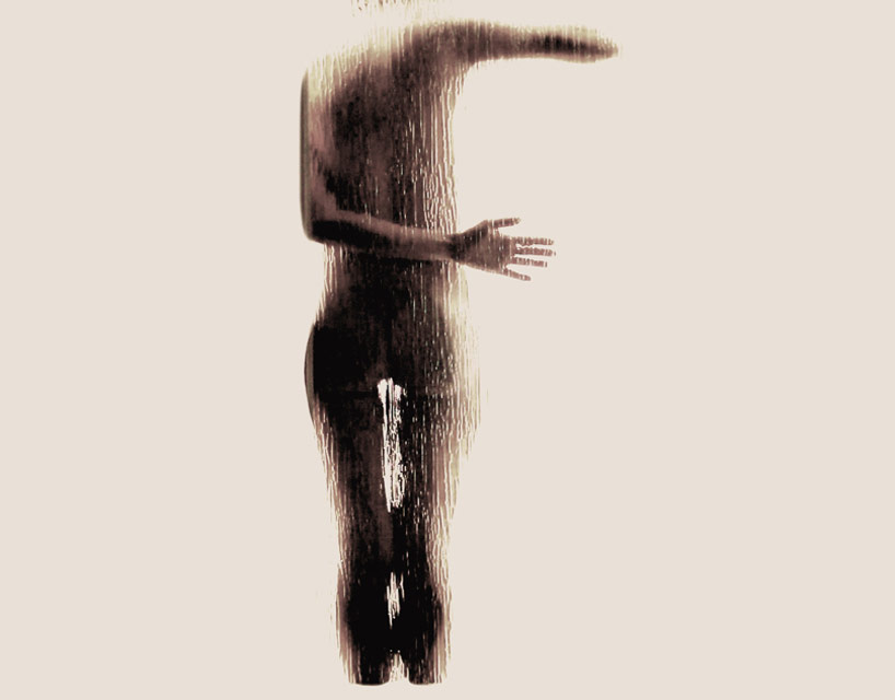 *女性裸體字母剪影:希臘藝術家Anastasia Mastrakouli 解剖人體視覺奧秘! 7