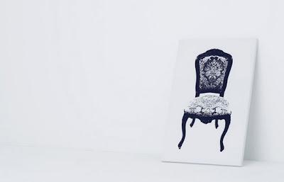 Muebles que parecen cuadros.