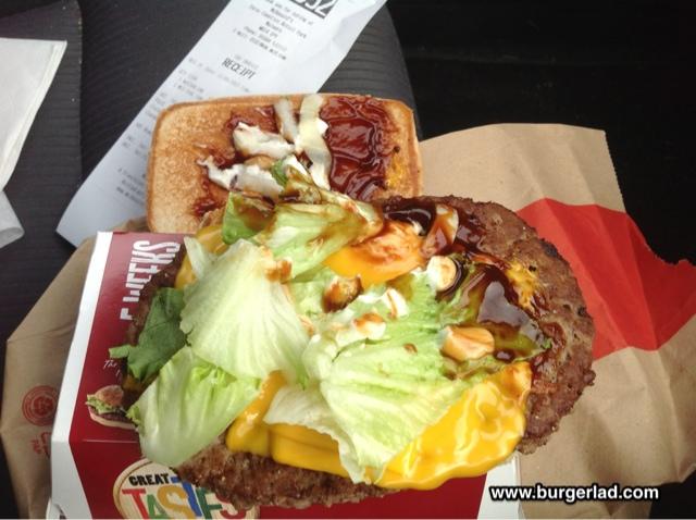 McDonald's Australian BBQ Supreme Burger Review