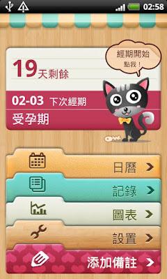 *讓你一見鍾情的經期日曆/日記:女性日曆/日記 (Android App) 4