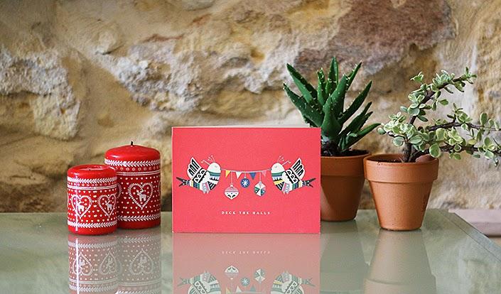 weekend avant Noël, préparatifs pour les fêtes, déco chambre d'amis, Canon EOS 70D, carte de vœux fêtes fin d'année