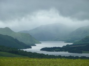 Zooming to the bad weather up Ullswater