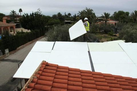 Techo verde en Alicante - Paneles de Poliuretano