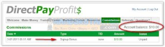 Dollar Gratis Bonus Sign Up