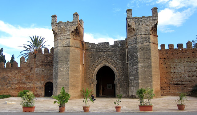 Entrance to the Chellah, Rabat