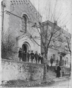 Eglise en 1920
