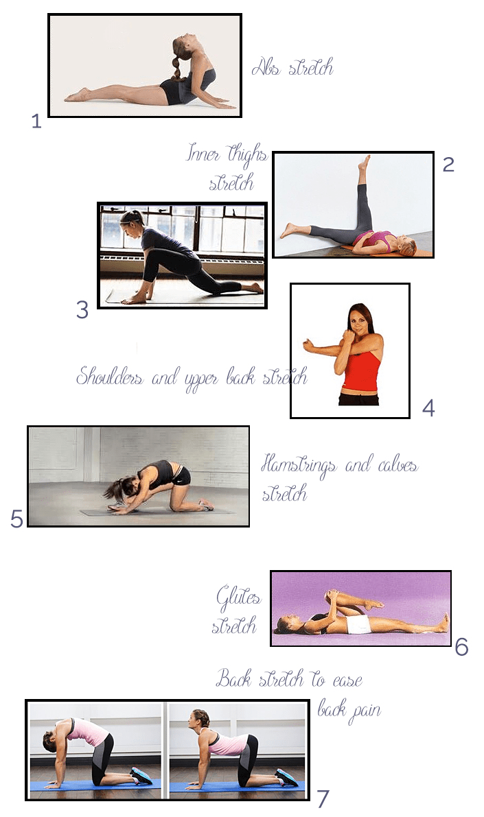 stretching exercises, stretches, workout routine, ease back pain, tips for a greater flexibility