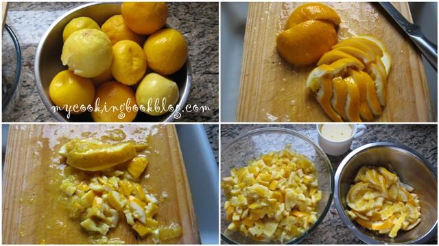 Портокалов мармалад с лимон, карамфил, джинджифил и анасон