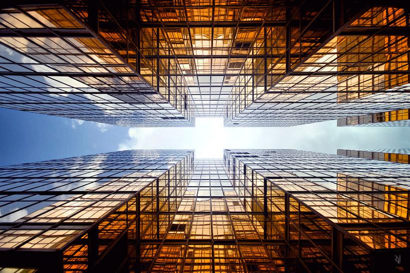 *垂直地平線:藝術家 Romain Jacquet-Lagreze 90度香港仰空攝影作品! 3