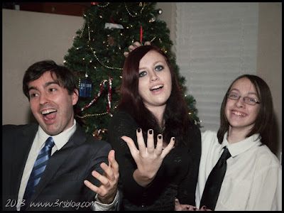 Our collective children clowning on-camera, Christmas Eve 2012 (www.3rsblog.com)