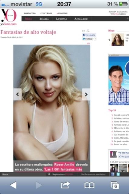 YoDona, la revista de El Mundo, recomienda 'Las 1.001 fantasías más eróticas y salvajes de la historia' esta semana