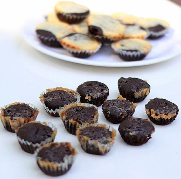 Caramel Swirl Brownies Recipe   Eggless Sweet Treats